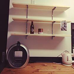 キッチン/DIY計画/完成ではない。/石膏ボード/キッチンカウンターDIY...などのインテリア実例 - 2014-03-17 20:28:29