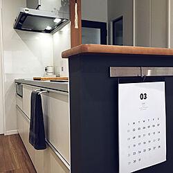 ヴィンティア/TOTOキッチン/IKEA/グレー/子供がいる家...などのインテリア実例 - 2020-03-07 16:10:40