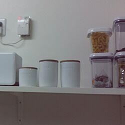キッチン/モノトーン/白がすき/IKEAのインテリア実例 - 2015-08-18 19:24:11