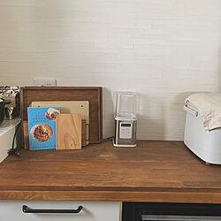 食器棚リメイク/キッチンのインテリア実例 - 2021-08-01 08:32:20