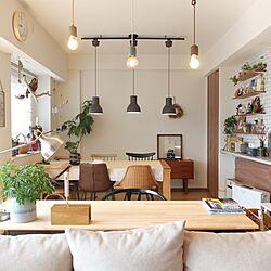 部屋全体/新築マンション/IKEA/ACTUS/RC広島支部...などのインテリア実例 - 2017-06-06 11:18:58