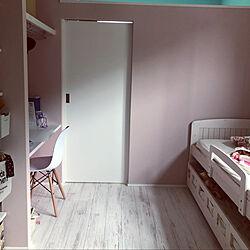 子供部屋女の子/2段ベッド/ベッド周りのインテリア実例 - 2020-06-13 23:03:59