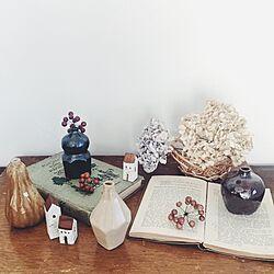 机/コレクション/益子陶器市/作家さんの作品/かご...などのインテリア実例 - 2016-01-14 17:13:13