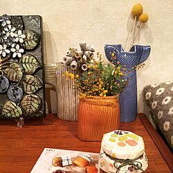 棚/花のある暮らし/リサラーソンワードローブシリーズ/リサラーソン/陶板...などのインテリア実例 - 2017-03-02 00:35:31