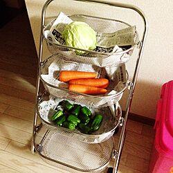 キッチン/野菜ストック/ハンズマンで購入のインテリア実例 - 2015-02-12 21:20:42