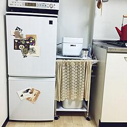 キッチン/ポストカード/モノクロ/雑貨/男前...などのインテリア実例 - 2018-05-10 01:04:26