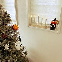 ダイソー/100均/北欧/クリスマス/クリスマスツリー...などのインテリア実例 - 2020-10-20 08:10:10