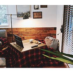 コタツ/古材/板壁DIY/おやつ時間/セルフリフォーム...などのインテリア実例 - 2021-01-16 16:46:03