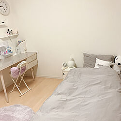 IKEA/勉強机/デスクライト/ベッド/子供部屋女の子...などのインテリア実例 - 2020-01-10 18:45:24