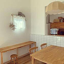 ダイニングテーブル/スタディースペース/カフェ風/ドライフラワー/サンゲツ...などのインテリア実例 - 2020-01-13 21:47:29