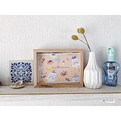 飾り棚/ダイソーの花瓶/ミンネで販売しています/ポストカード/ハロウィン...などのインテリア実例 - 2021-09-04 17:53:32