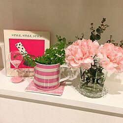 キッチン/Andy Warhol/名前わからずw/ピンクの花/砂時計のインテリア実例 - 2015-04-07 18:17:26