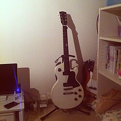 部屋全体/ギター/ベース/IKEAのインテリア実例 - 2013-04-02 18:46:20