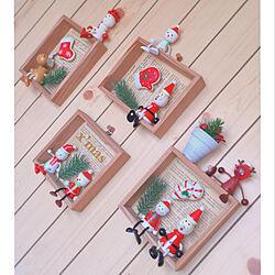 壁/天井/クリスマス/ナチュラルクリスマス/クリスマス飾り/小物...などのインテリア実例 - 2018-12-25 18:04:41