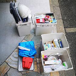 玄関/入り口/非常食/非常用備品/ローリングストック/春の大掃除...などのインテリア実例 - 2021-05-04 14:42:42