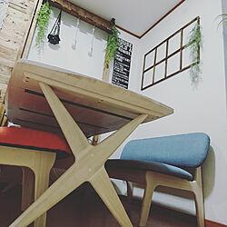 玄関/入り口/ダイニングテーブル/モニター当選/ありがとうございます/ニトリ2018家具モニター...などのインテリア実例 - 2018-08-31 22:10:44