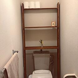 トイレの収納/DIY/バス/トイレのインテリア実例 - 2020-03-23 22:42:42