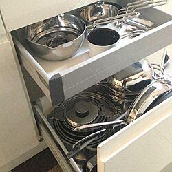 キッチン/キッチンの収納/鍋のインテリア実例 - 2012-11-08 14:55:50