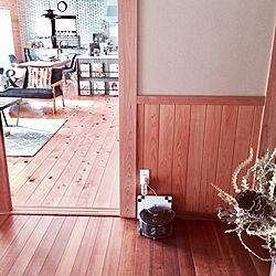 玄関/入り口/360eye/波板トタンDIY/ドライフラワー/日本家屋...などのインテリア実例 - 2017-05-14 08:21:40