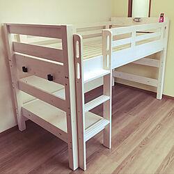 子供部屋/ロフトベット/ベッド周りのインテリア実例 - 2019-05-15 20:21:04