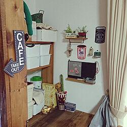 壁/天井/粘土細工/セリア/植物/Instagram→rumnet...などのインテリア実例 - 2018-09-30 16:37:42