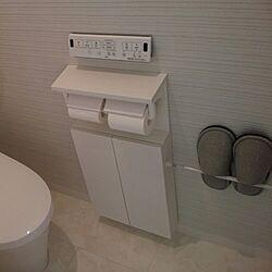 バス/トイレ/リクシルのトイレ/白/自動洗浄/スリッパはしまむらのインテリア実例 - 2017-06-27 10:00:05