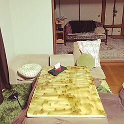 リビング/こどもと暮らす/こたつのある部屋のインテリア実例 - 2015-12-27 21:12:51