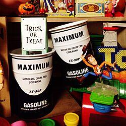 棚/ダイソー/トイストーリー/狭い部屋/おもちゃ...などのインテリア実例 - 2015-09-02 20:02:14