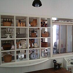 キッチン/DIY/ウォールステッカー セリア/アンティーク/雑貨...などのインテリア実例 - 2014-07-04 08:16:18