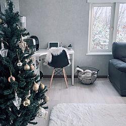 海外インテリアに憧れる/クリスマスインテリア/クリスマスツリー/Xmas/ノピア...などのインテリア実例 - 2020-12-25 09:32:29