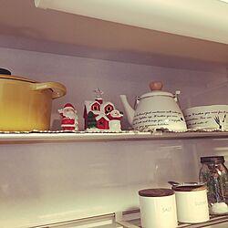 キッチン/ル・クルーゼ鍋/鍋/雑貨/カフェ風...などのインテリア実例 - 2016-12-11 16:07:55