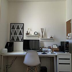 机/IKEA/北欧/一人暮らし/無印良品...などのインテリア実例 - 2015-03-27 11:35:55