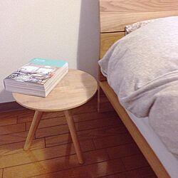 机/寝室/サイドテーブル/aida/123人の家のインテリア実例 - 2014-03-31 19:12:01