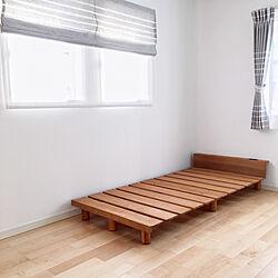 ベッド周り/布団ベッド/GINO/ジーノ/すのこベッド...などのインテリア実例 - 2017-09-26 21:14:36