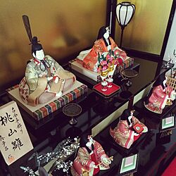 リビング/桃の節句/真多呂人形/お雛様/ひなまつりのインテリア実例 - 2016-02-22 16:24:50