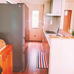 キッチン/木のぬくもり大好き/整理整頓♡/ナチュラルインテリア/パイン素材家具...などのインテリア実例 - 2020-08-06 07:10:55