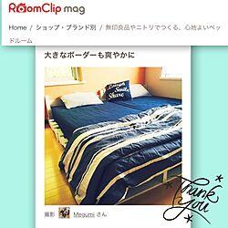 ベッド周り/クッションカバー/布団カバー/パレットベッド/RoomClip mag...などのインテリア実例 - 2016-12-23 09:54:24