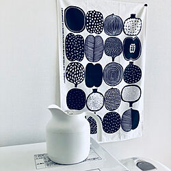 棚/Black&White/白黒/無印良品電気ケトル/白黒インテリア...などのインテリア実例 - 2018-03-22 08:33:08