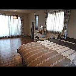 ベッド周り/寝室/ベッド/アンティーク/ウォールナットのインテリア実例 - 2014-03-24 13:47:09