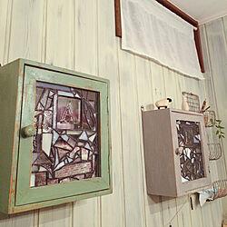 壁/天井/nido/ダメージ塗装/子どもと暮らす/赤ちゃんのいる暮らし...などのインテリア実例 - 2017-11-16 18:55:14