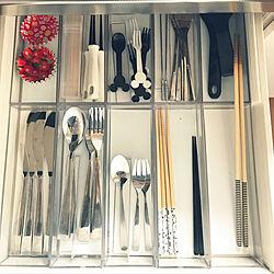 キッチン/100均/大掃除始めました/リメイクシート/収納...などのインテリア実例 - 2017-11-15 15:59:08