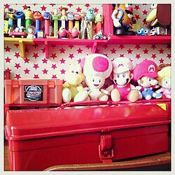机/おもちゃ/LEGO/子供部屋/子供部屋収納のインテリア実例 - 2013-09-12 10:31:31