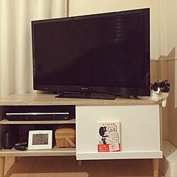 1K/猫との暮らし/無印良品/ナチュラル/IKEA...などのインテリア実例 - 2020-03-06 20:53:02