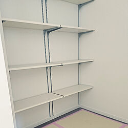 棚/新築建築中/パントリー棚のインテリア実例 - 2019-01-12 14:50:17