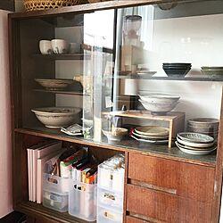 キッチン/2階LDK/古家具/食器棚/シンプル...などのインテリア実例 - 2017-06-23 16:04:17
