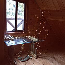 アートのある暮らし/yarnnakarn/ログハウス/輸入住宅/LEDイルミネーションのインテリア実例 - 2021-04-13 23:35:37