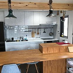 キッチン/RoomClipありがとう/二世帯住宅の二階/インテリア楽しい♡/IKEA...などのインテリア実例 - 2018-01-23 07:56:28