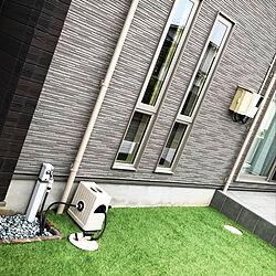 ガーデンシンクDIY/タイルテラス/人工芝diyのインテリア実例 - 2020-05-14 22:32:58