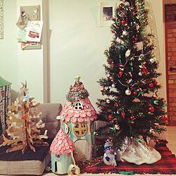 リビング/小さな家/ハウス/クリスマスのインテリア実例 - 2015-11-08 22:54:08