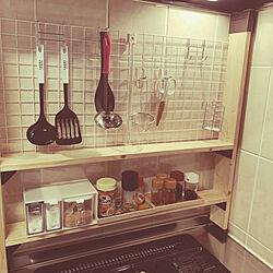 キッチンDIY/DIY/100均/ダイソー/キッチンのインテリア実例 - 2019-07-08 22:24:04